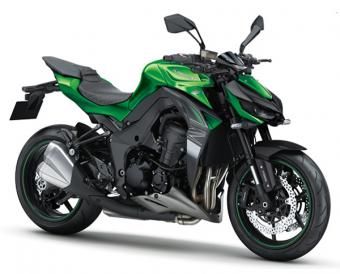 Z1000 2018 สีเขียว