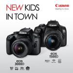 CANON EOS 1500D, EOS 3000D