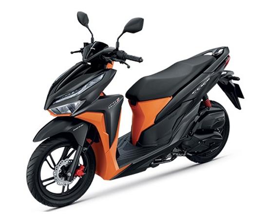Click 150i 2019-2020 สีดำ-ส้ม
