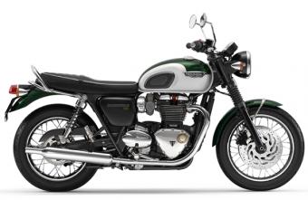 Bonneville T120 สีเขียว