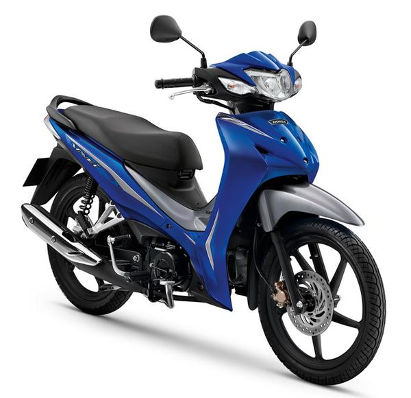 Wave110i 2020 สีน้ำเงิน-เทา