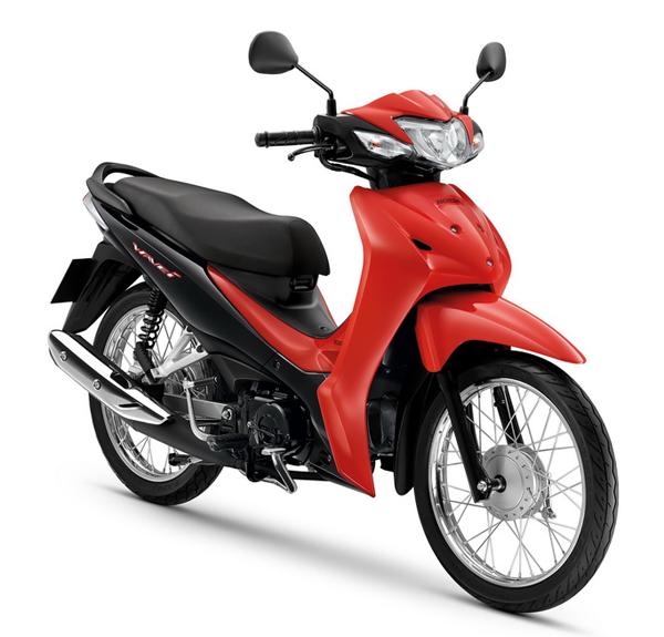 Wave110i 2020 สีแดง-ดำ