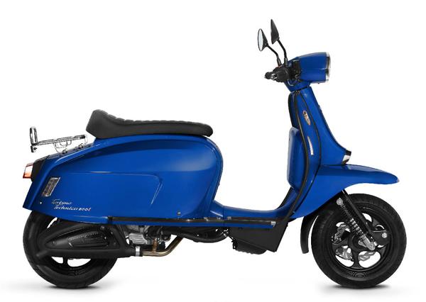 Scomadi TT200i 2019-2020 สีน้ำเงิน