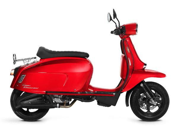 Scomadi TT200i 2019-2020 สีแดง
