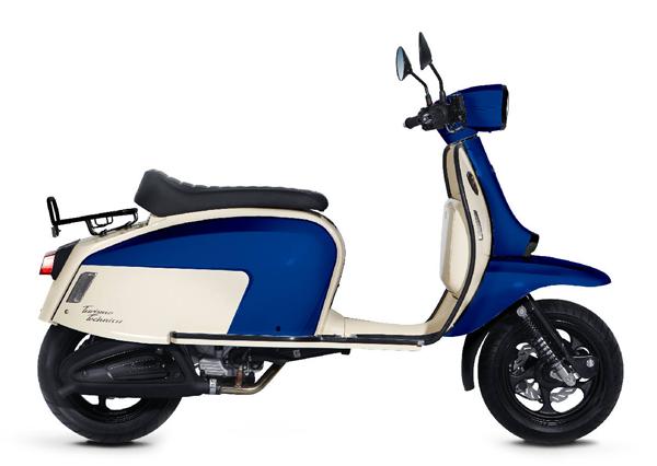 Scomadi TT200i 2019-2020 สีน้ำเงิน-แดง