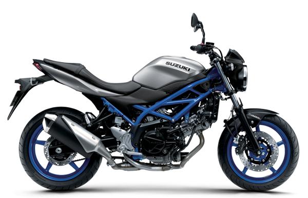 Suzuki SV650A 2021 สีเงิน