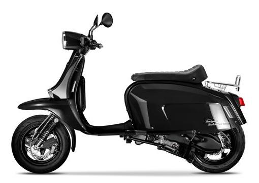 Scomadi TT125i 2019-2020 สีดำ