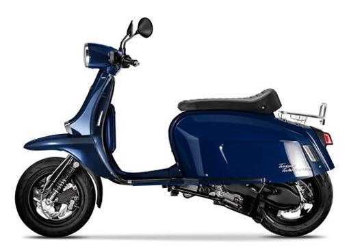 Scomadi TT125i 2019-2020 สีน้ำเงิน