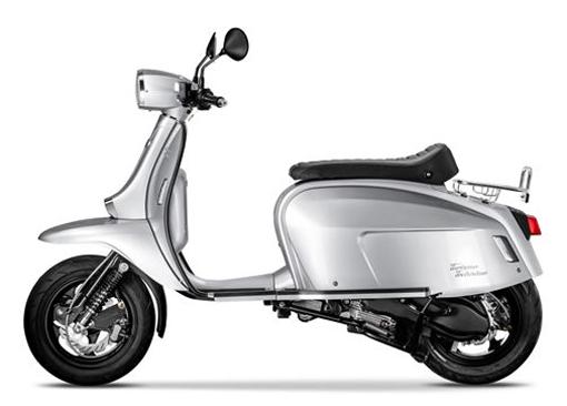 Scomadi TT125i 2019-2020 สีเงิน