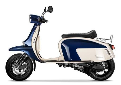 Scomadi TT125i 2019-2020 สีขาว-แดง
