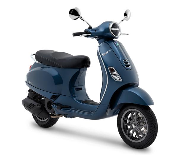 Vespa LX125 2019 สีน้ำเงิน