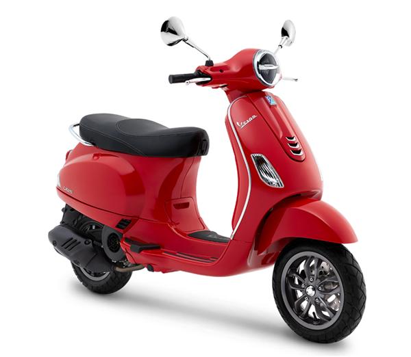 Vespa LX125 2019 สีแดง