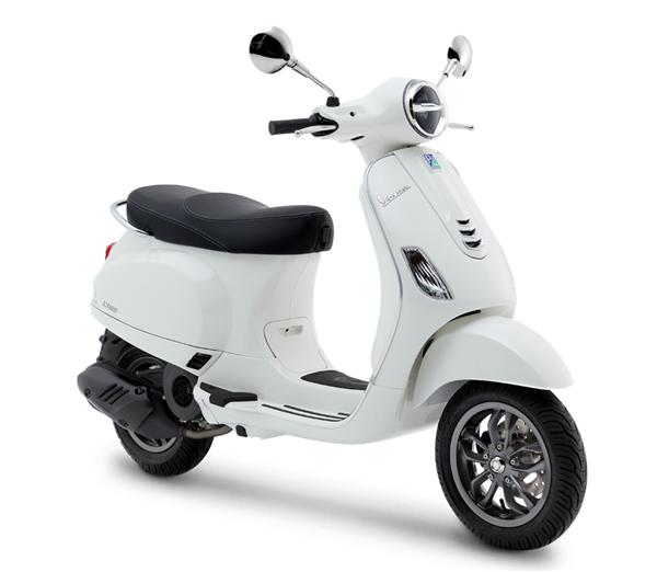 Vespa LX125 2019 สีขาว