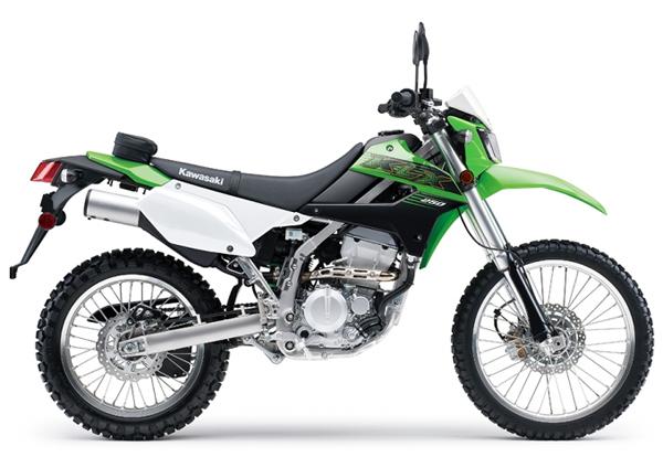 KLX250 2020 สีเขียว