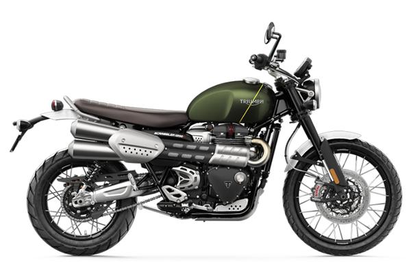 Scrambler 1200 XC สีเขียว
