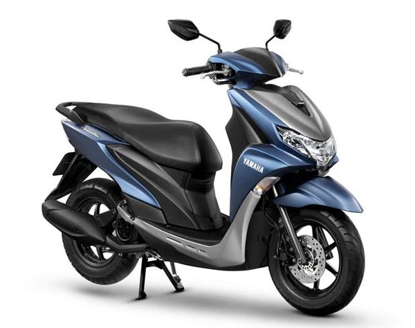 Yamaha FreeGo 2020 สีน้ำเงิน
