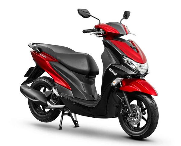 Yamaha FreeGo 2020 สีแดง