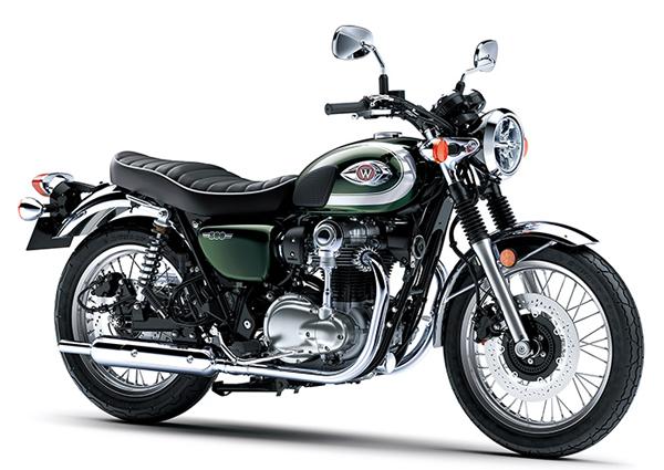 W800 2020 สีเขียว