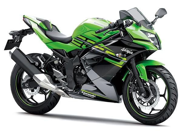 Ninja 250SL สีเขียว