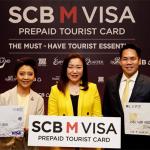 บัตรเติมเงิน SCB M VISA PREPAID TOURIST