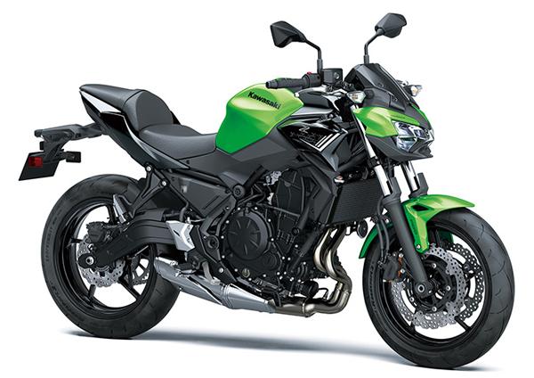 Kawasaki Z650 2020 สีเขียว