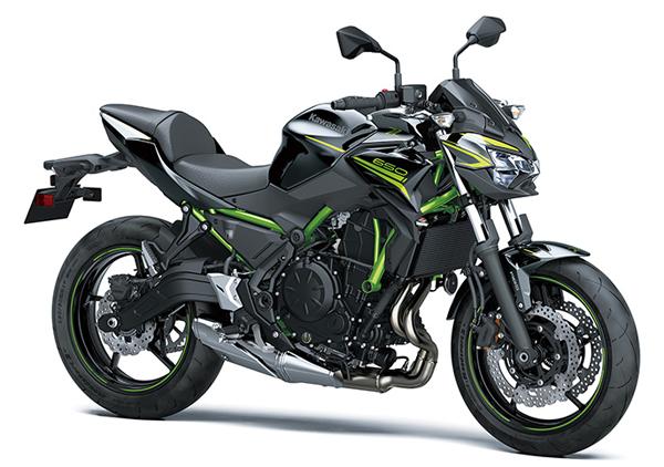 Kawasaki Z650 2020 สีดำ