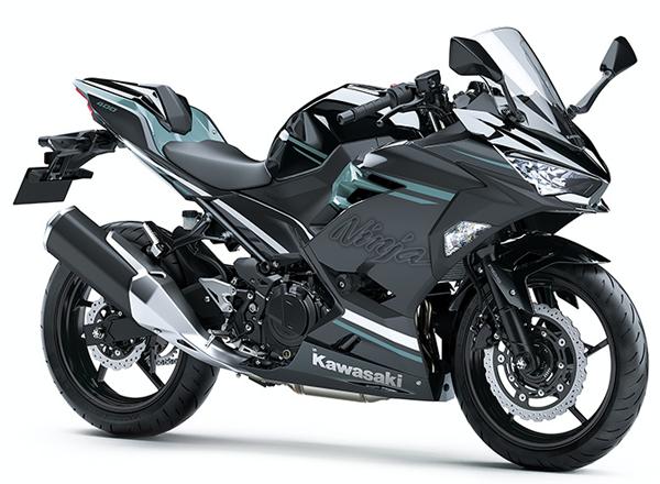 Ninja 400 2020 HG สีดำ