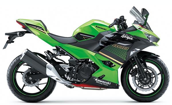 Ninja 400 KRT 2020 สีเขียว