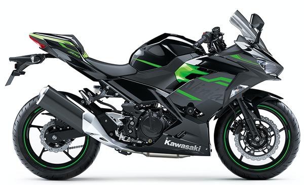 Ninja 400 KRT 2020 สีดำ