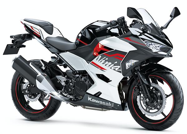 Ninja 400 2020 สีขาว