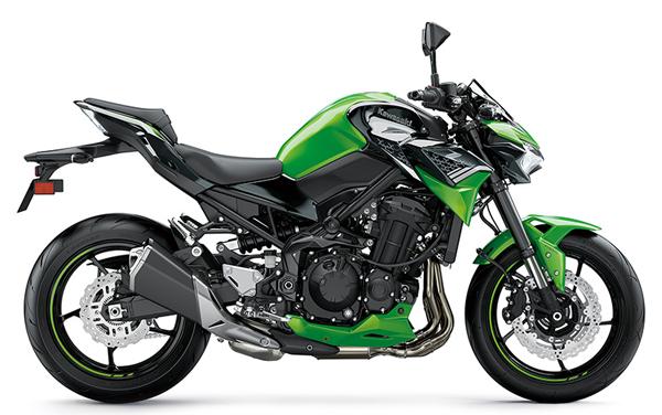 Z900 2020 สีเขียว