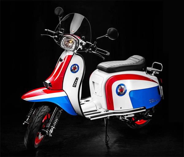 Scomadi TT200i The Who Edition