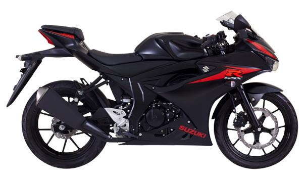 GSX-R150 2019 สีดำ
