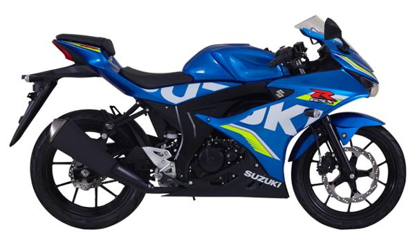 GSX-R150 2019 สีน้ำเงิน