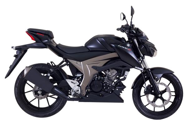 GSX-S150 2019 สีดำ