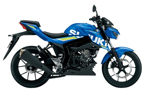 GSX-S150 2019 สีน้ำเงิน