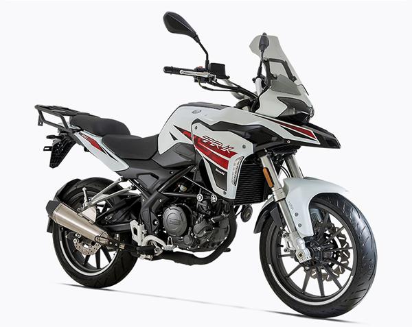 Benelli TRK251 สีขาว