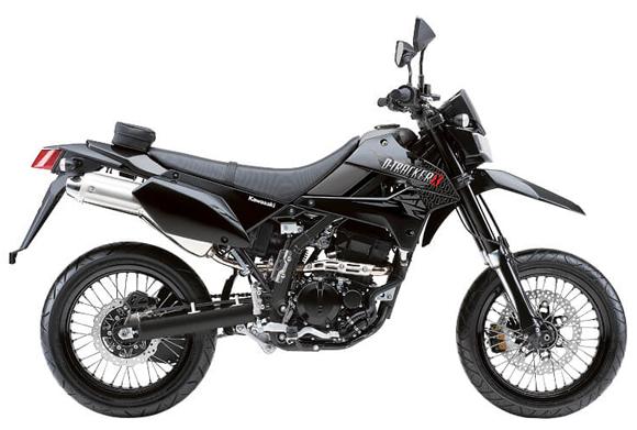 Kawasaki D-Tracker 250 สีเทา