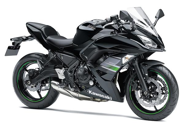 Ninja 650 2019 สีดำ