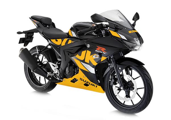 Suzuki GSX-R150 2020 สีดำ-เหลือง