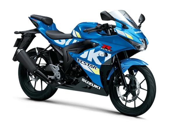 Suzuki GSX-R150 2020 สีน้ำเงิน