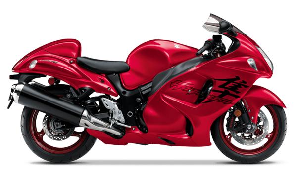 Suzuki Hayabusa 2020-2021 สีแดง