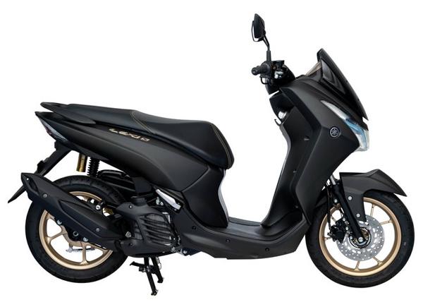 Yamaha Lexi 125 S สีดำ