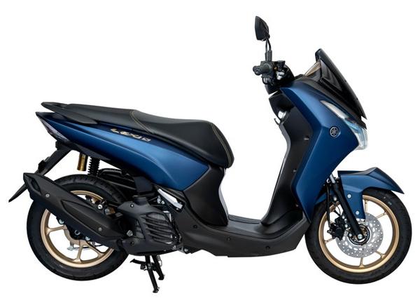 Yamaha Lexi 125 S สีน้ำเงิน