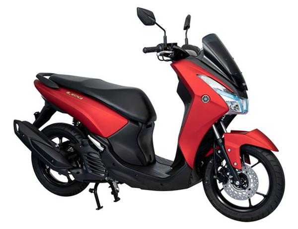 Yamaha Lexi 125 สีแดง