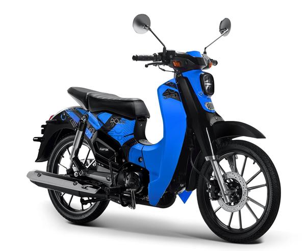 GPX POPz 125 สีฟ้า