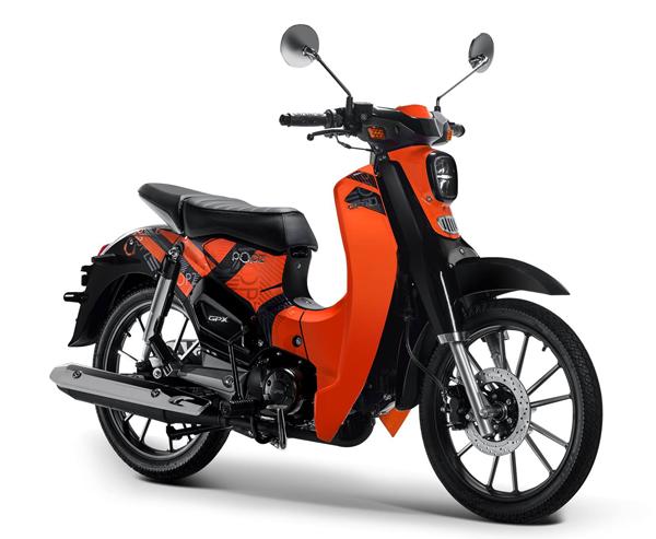 GPX POPz 125 สีส้ม