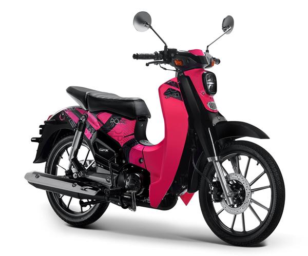 GPX POPz 125 สีชมพู