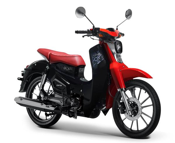 GPX POPz 125 สีแดง