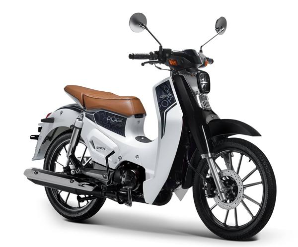 GPX POPz 125 สีขาว